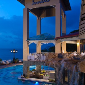 Armando - sandals regency la toc - luxury st lucia honeymoons