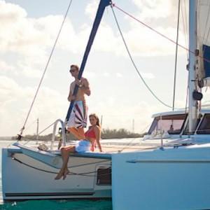 Boat ride-sugar beach resort-luxury mauritus honeymoon packages