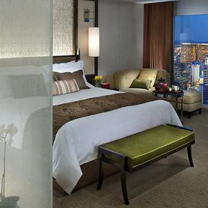 Cityscape Room - Mandarin Oriental Las Vegas - Luxury Las Vegas Honeymoon Packages