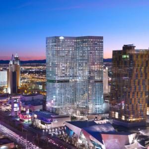 Exterior 2 - Mandarin Oriental Las Vegas - Luxury Las Vegas Honeymoon Packages