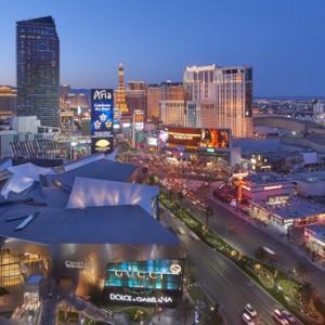 Exterior 4 - Mandarin Oriental Las Vegas - Luxury Las Vegas Honeymoon Packages