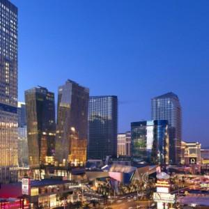 Exterior - Mandarin Oriental Las Vegas - Luxury Las Vegas Honeymoon Packages