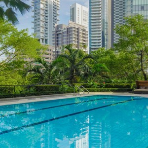 Four Seasons Singapore - Luxury Singapore Holiday packages - Pool1