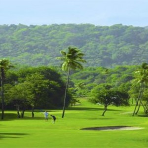 Marigot Beach Club - Luxury St Lucia honeymoon packages - Golf course