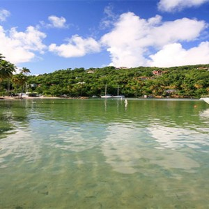 Marigot Beach Club - Luxury St Lucia honeymoon packages - Yacht