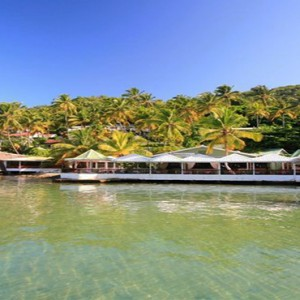 Marigot Beach Club - Luxury St Lucia honeymoon packages - exterior