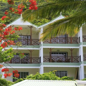 Marigot Beach Club - Luxury St Lucia honeymoon packages - hotel exterior