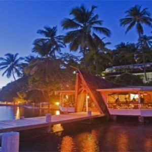 Marigot Beach Club - Luxury St Lucia honeymoon packages - marigot beach yacht club