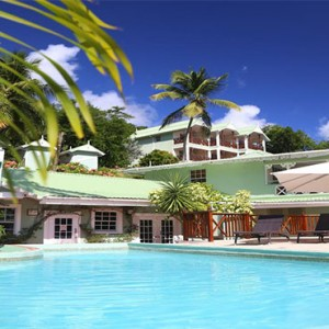 Marigot Beach Club - Luxury St Lucia honeymoon packages - pool