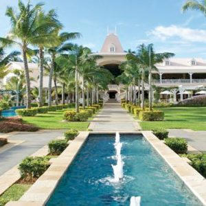 Mauritius Honeymoon Packages Sugar Beach Mauritius Hotel Entrance