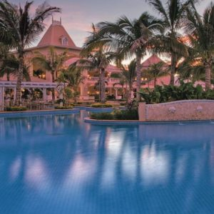 Mauritius Honeymoon Packages Sugar Beach Mauritius Pool At Night