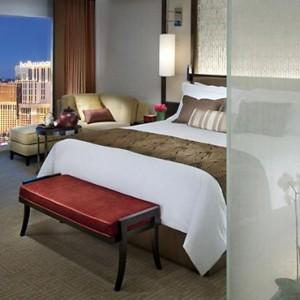 Strip View Room - Mandarin Oriental Las Vegas - Luxury Las Vegas Honeymoon Packages