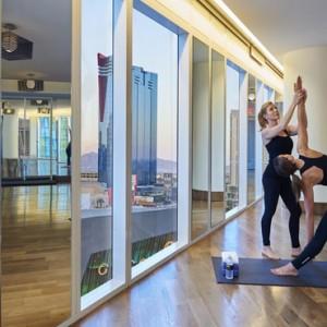 Yoga - Mandarin Oriental Las Vegas - Luxury Las Vegas Honeymoon Packages