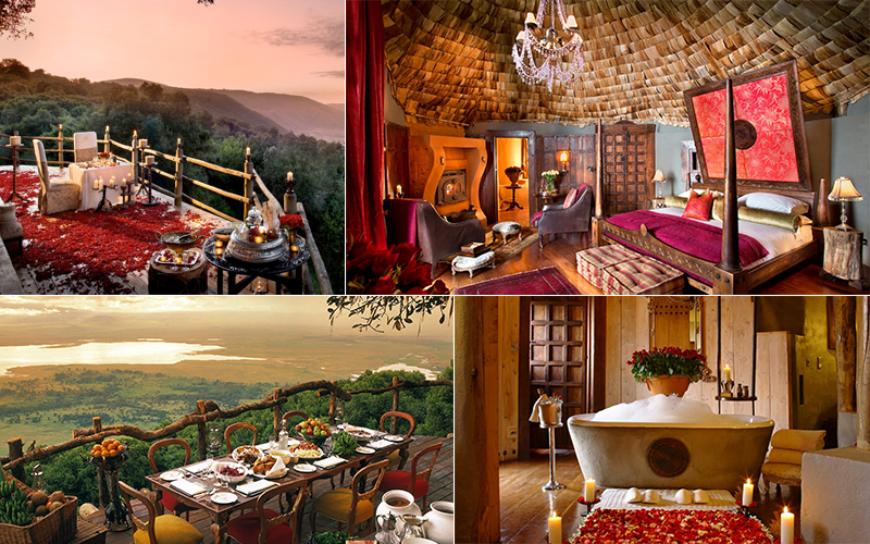 and beyond crater lodge - top luxury safari lodges in africa - luxury safari honeymoons
