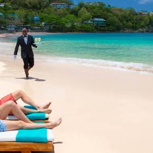 beach 2 - sandals regency la toc - luxury st lucia honeymoons