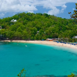 beach 3 - sandals regency la toc - luxury st lucia honeymoons