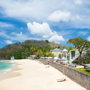 beach 7 - sandals regency la toc - luxury st lucia honeymoons