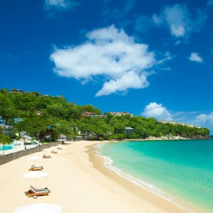 beach - sandals regency la toc - luxury st lucia honeymoons