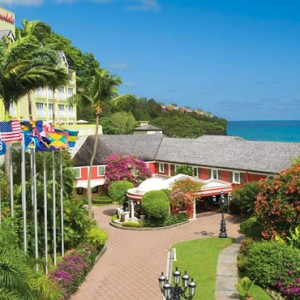 exterior 2 - sandals regency la toc - luxury st lucia honeymoons