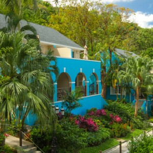 exterior - sandals regency la toc - luxury st lucia honeymoons