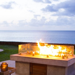 firepit - sandals regency la toc - luxury st lucia honeymoons