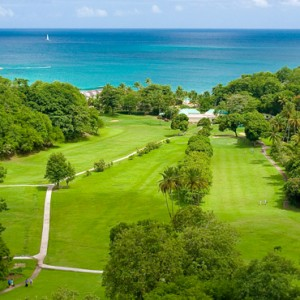 golf 2 - sandals regency la toc - luxury st lucia honeymoons
