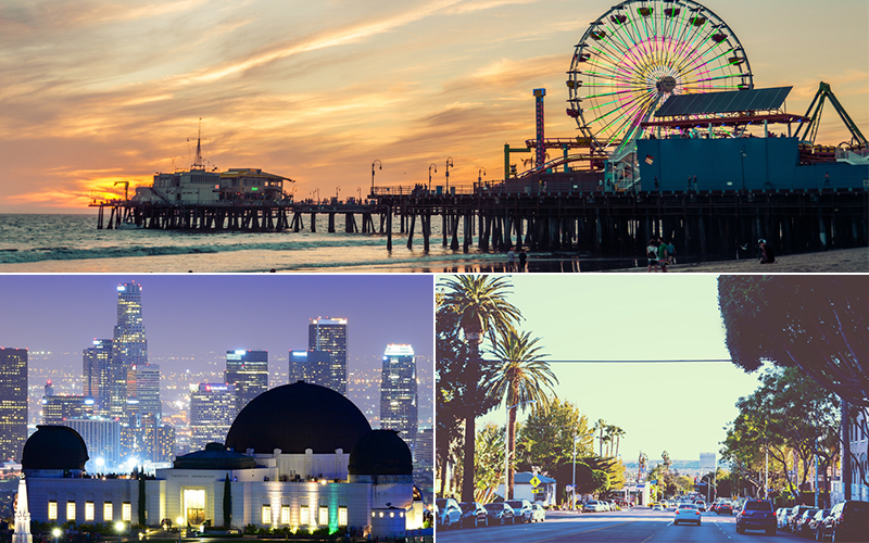 los angeles honeymoon - Top honeymoon destinations in America