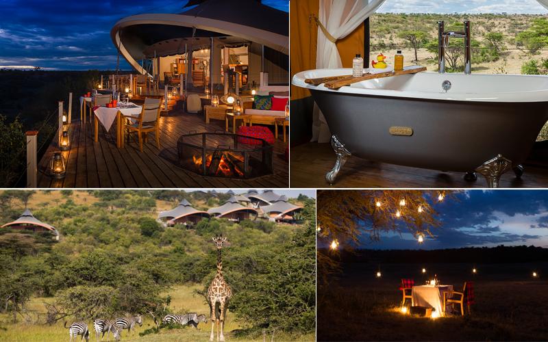 mzuri mahali - top luxury safari lodges in africa - luxury safari honeymoons