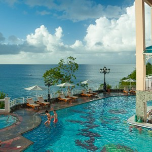 pool 3 - sandals regency la toc - luxury st lucia honeymoons