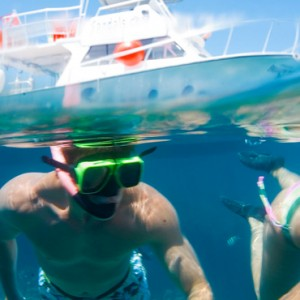 snorkeling - sandals regency la toc - luxury st lucia honeymoons