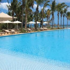 south pool-sugar beach resort-luxury mauritus honeymoon packages