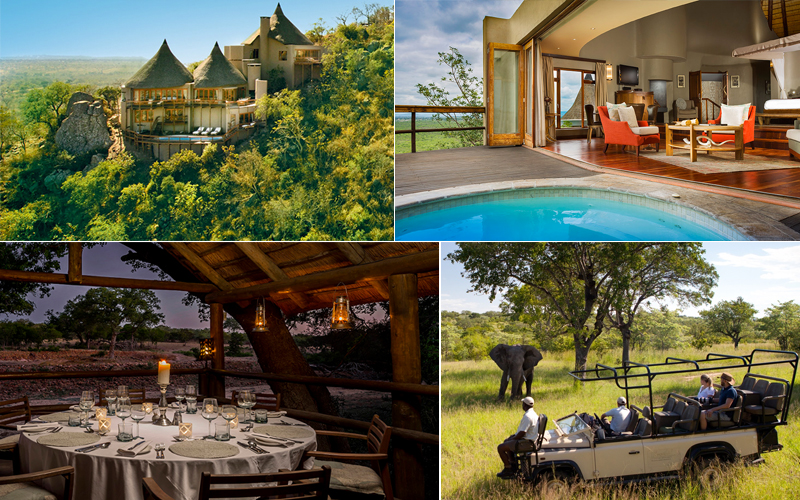 ulusaba game reserve - top luxury safari lodges in africa - luxury safari honeymoons