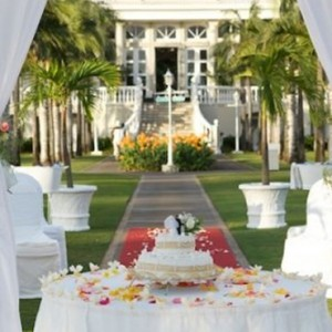 wedding ceremonyx3-sugar beach resort-luxury mauritus honeymoon pacakages