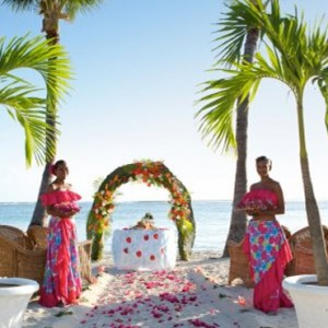wedding ceremonyx6-sugar beach resort-luxury mauritus honeymoon packages