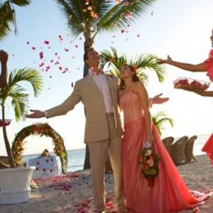 wedding setupx2-sugar beach resort-luxury mauritus honeymoon packages