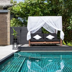 2 Bedroom Beach Villa With Private Pool2 Outrigger Konotta Maldives Resort Maldives Honeymoons