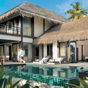 2 Bedroom Beach Villa With Private Pool3 Outrigger Konotta Maldives Resort Maldives Honeymoons