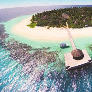 Aerial View Outrigger Konotta Maldives Resort Maldives Honeymoons
