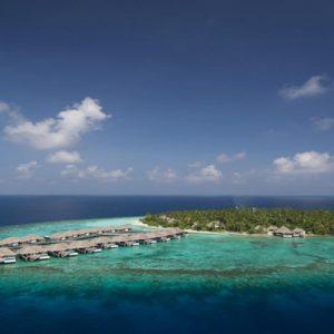 Aerial View1 Outrigger Konotta Maldives Resort Maldives Honeymoons