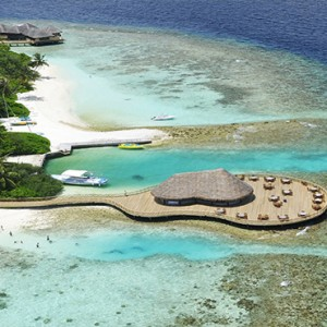Bandos Maldives - Luxury Maldives honeymoon packages - aerial view
