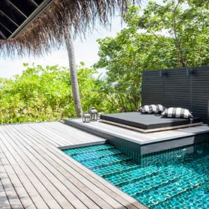 Beach Villa With Private Pool5 Outrigger Konotta Maldives Resort Maldives Honeymoons
