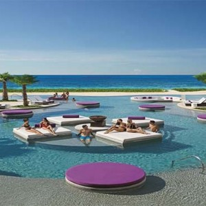 Breathless Riviera Cancun resort and spa - Luxury Mexico Honeymoon packages - pool3