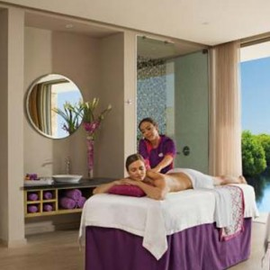 Breathless Riviera Cancun resort and spa - Luxury Mexico Honeymoon packages - spa cabin