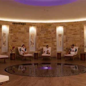 Breathless Riviera Cancun resort and spa - Luxury Mexico Honeymoon packages - spa relaxation area