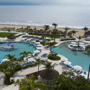 Hard Rock Hotel Vallarta - Luxury Mexico Honeymoon Packages - aerial view