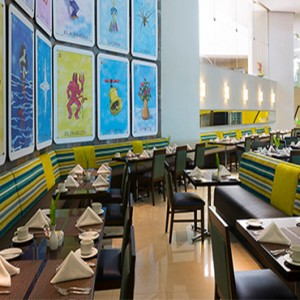 Hard Rock Hotel Vallarta - Luxury Mexico Honeymoon Packages - market restaurant
