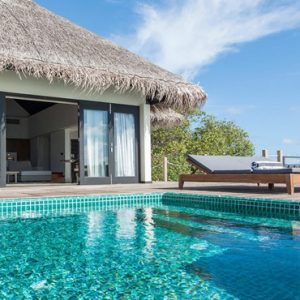 Lagoon Villa With Private Pool4 Outrigger Konotta Maldives Resort Maldives Honeymoons