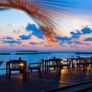 Outrigger Konotta Maldives Resort - Luxury Maldives Honeymoon Packages - Blue salt
