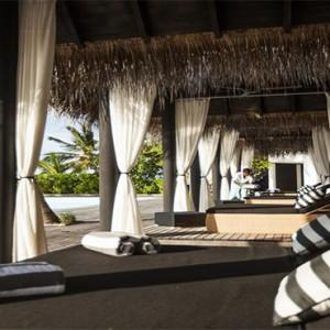 Outrigger Konotta Maldives Resort - Luxury Maldives Honeymoon Packages - Deck chairs
