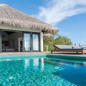 Outrigger Konotta Maldives Resort - Luxury Maldives Honeymoon Packages - villa